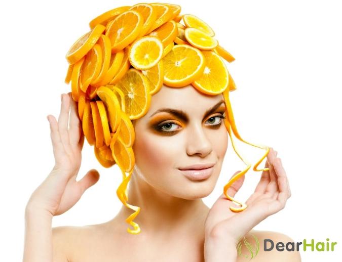 Голова в апельсинах