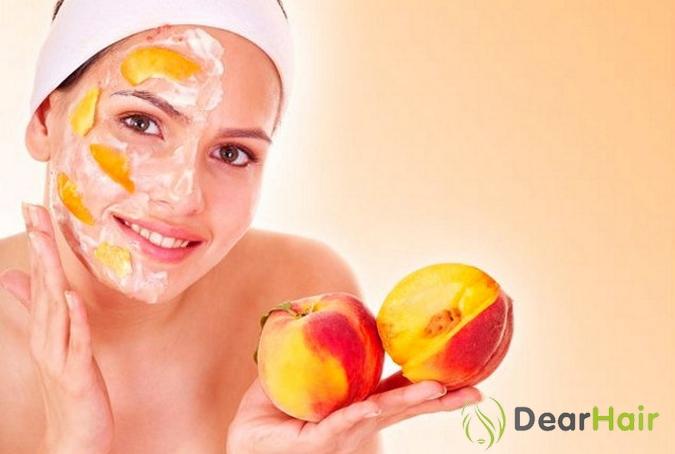 Персиковая маска