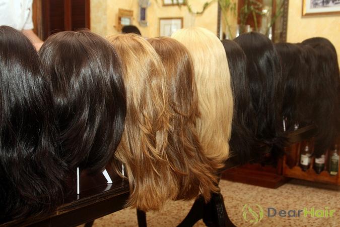 Выбор парика по цвету