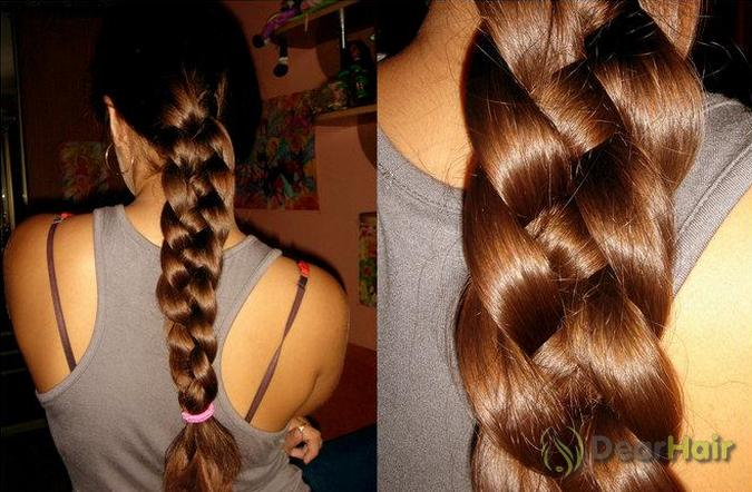 4-х прядная коса