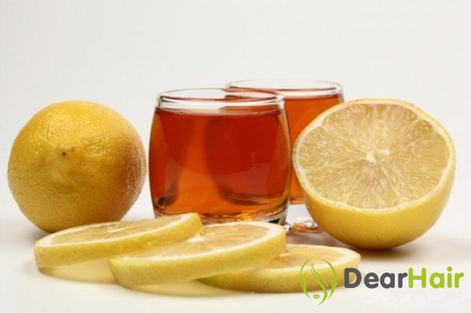 Алкоголь и лимон