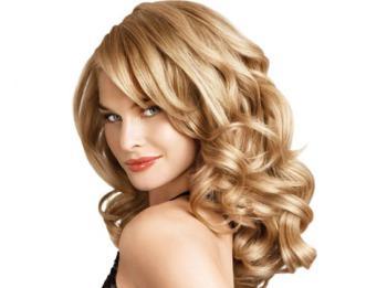Волнистие волосы
