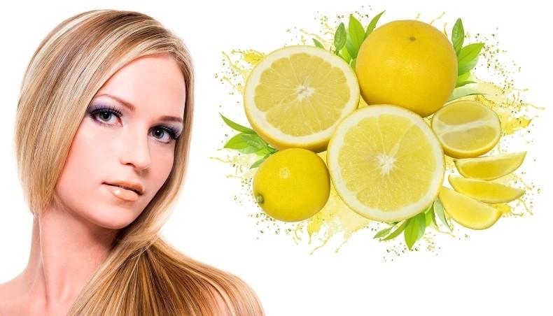 убираем жирный блеск лимоном