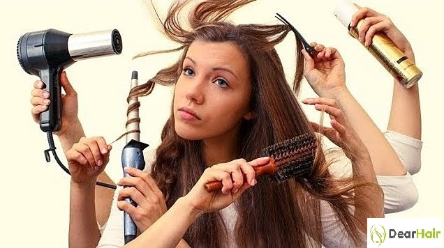 Ошибки ухода за волосами
