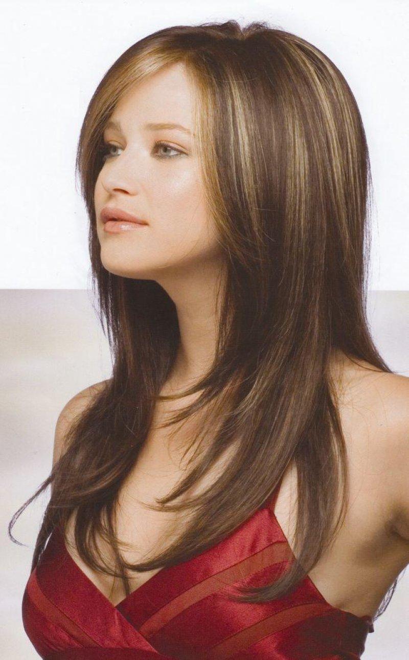 Каскад прическа длинные волосы