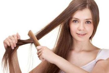 Репейное масло помогает смыть краску с волос