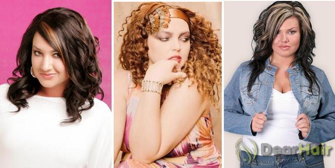 фото полненьких красивых девушек брюнеток с длинными волосами