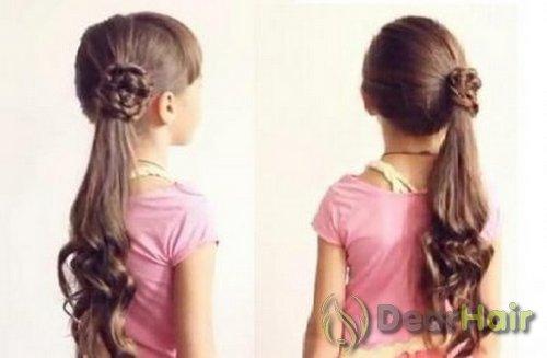 Детская причёска своими руками фото