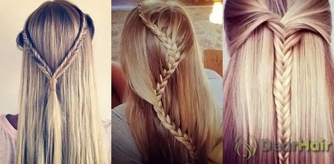 Прически в школу для подростков длинные волосы