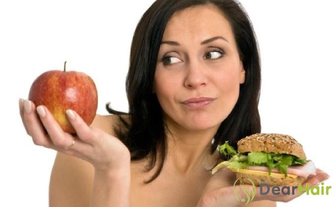 Яблоко VS бутерброд