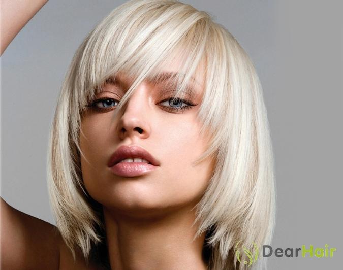 Причёски для негустых волос средней длины
