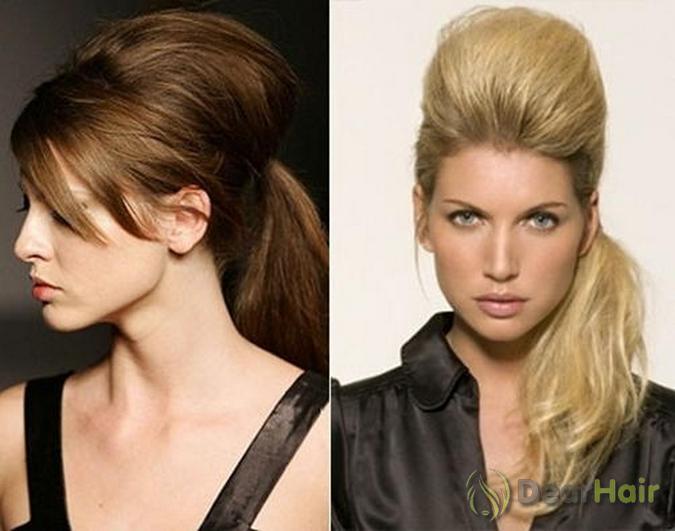 Как сделать объем для тонких прямых волос