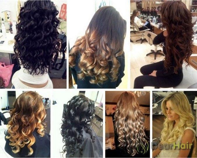 Как сделать локоны на густые волосы фото 402