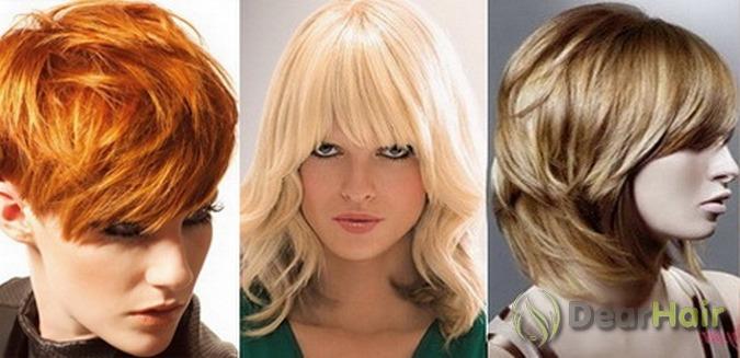 Волосы разной длины