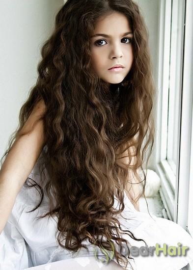 Шикарные пышные волосы
