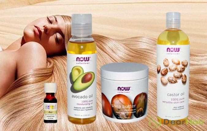 Маска против выпадения волос с яйцом маслом и медом