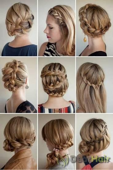 плетение волос на длинные волосы фото