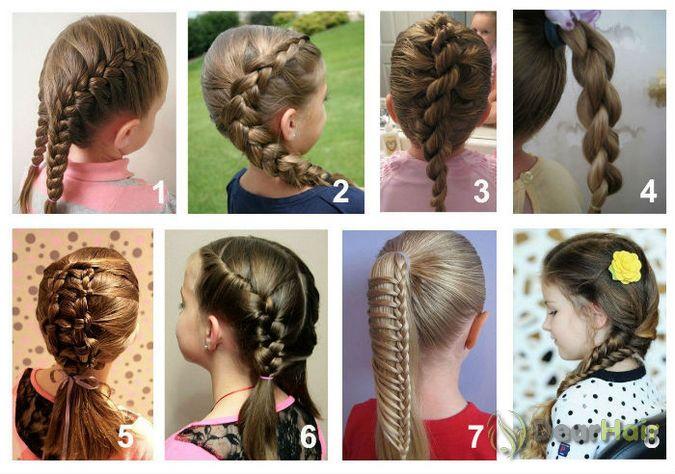 Классные прически в школу для коротких волос