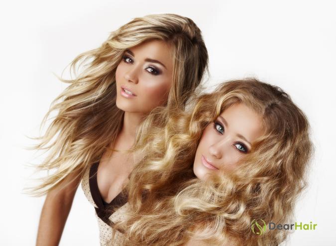 Блондинки близняшки