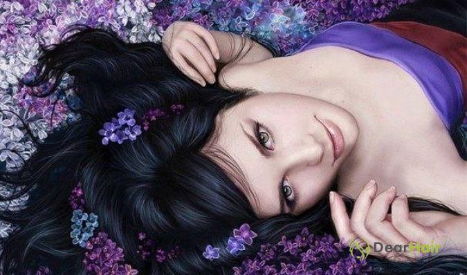 Брюнеика в цветах
