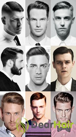 Как выбрать прическу и стрижку мужчине по форме и типу лица