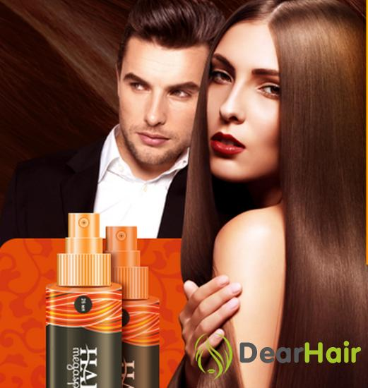 Результат действия спрея Hair MegaSpray