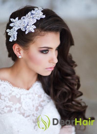 Свадебные прически на одну сторону
