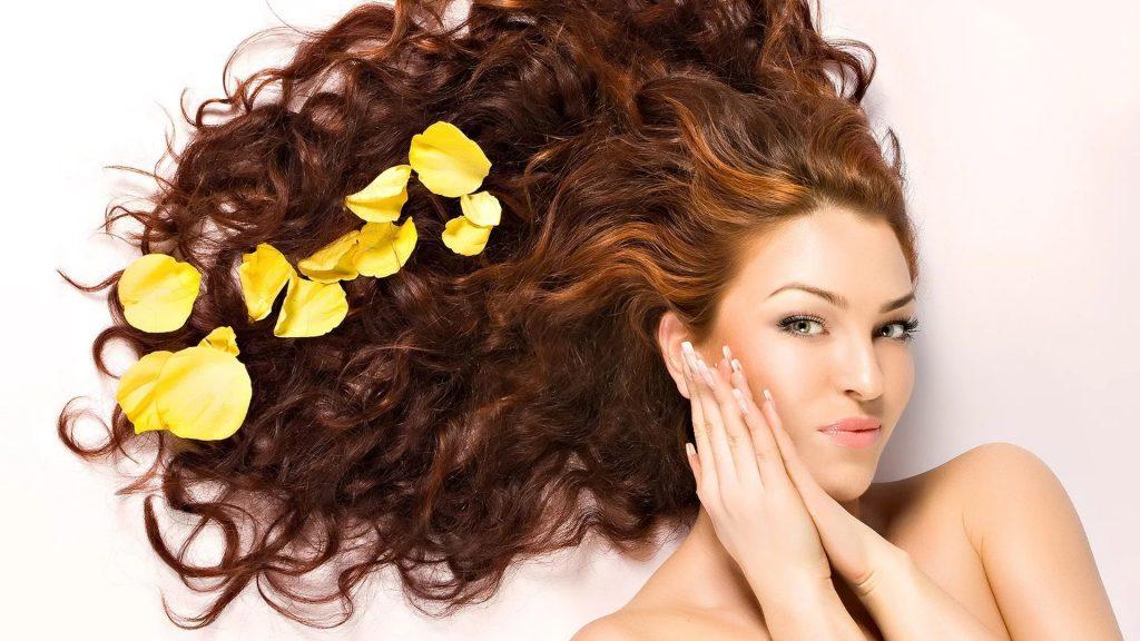 красиво уложенные волосы
